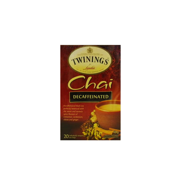 Twinings Chai Decaffeinated Tea