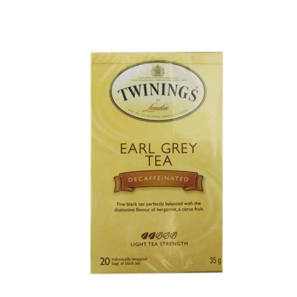 Twinings Earl Grey Decaffeinated Tea