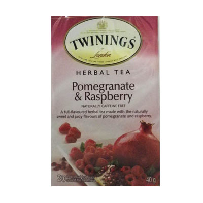 Twinnings Pomegranate and Raspberry Tea