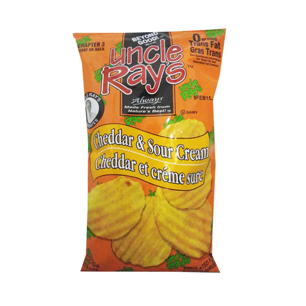 Uncle Rays Cheddar and Sour Cream Chips