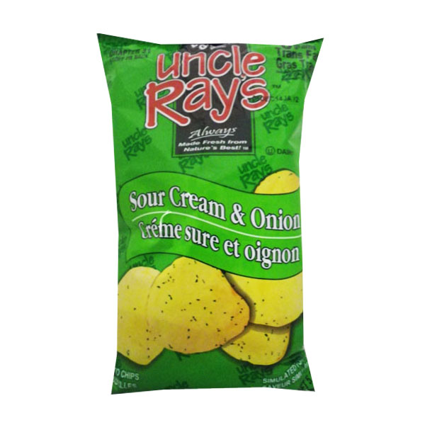 Uncle Rays Sour Cream and Onion Chips