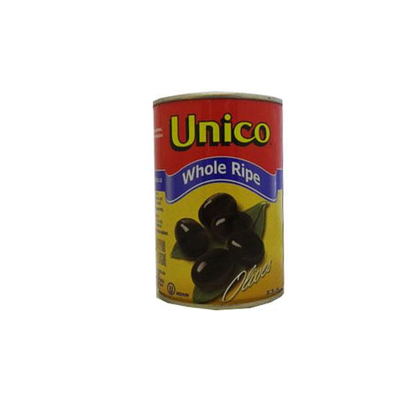 Unico Whole Black Olives