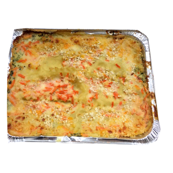 LASAGNA VEGETABLE-PRICE PER 100G