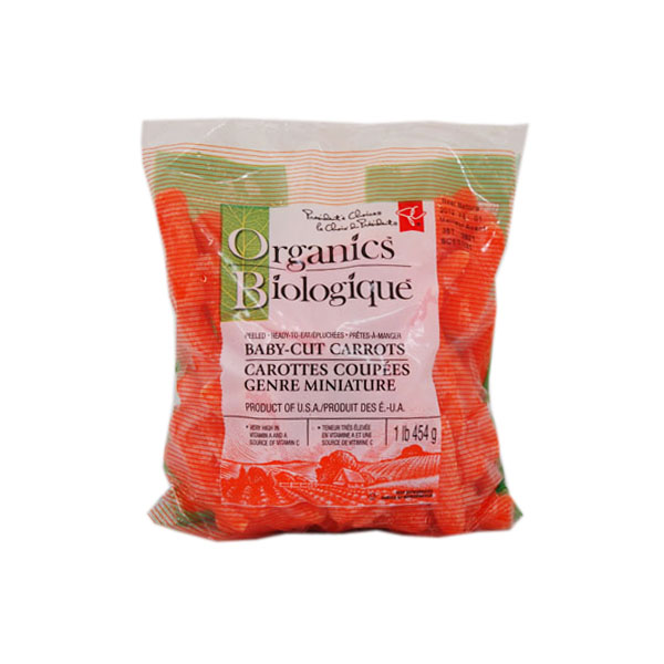 President's Choice Organic Baby Carrots