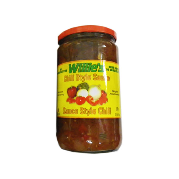 Willie's Chili Style Sauce